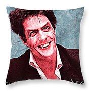 Hugh Grant Throw Pillow