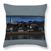 Hull Looking South Throw Pillow