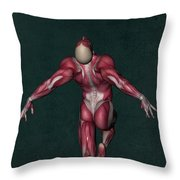 Human Anatomy 33 Throw Pillow