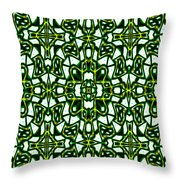Human Angels Abstract Throw Pillow