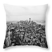 Human Ant Hill Throw Pillow
