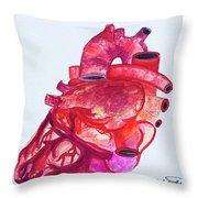 Human Heart Pa Throw Pillow