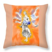 Human The Ultimate Form Throw Pillow