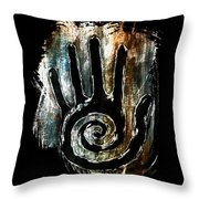 Humanity Native Symbol Throw Pillow