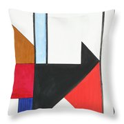 Humanity - Part I Throw Pillow