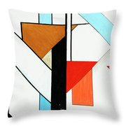 Humanity - Part II Throw Pillow