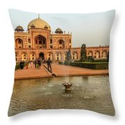 Humayun's Tomb 01 Throw Pillow