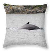 Humpback Whale 5 Throw Pillow