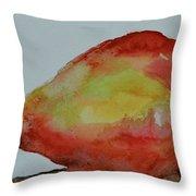 Humble Pear Throw Pillow