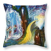 Humbly Join Along... Throw Pillow