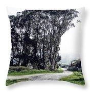 Humboldt Bay National Wildlife Refuge Throw Pillow