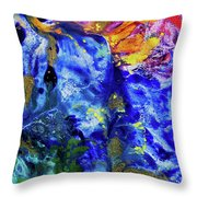 Hummingbirds Dream Throw Pillow