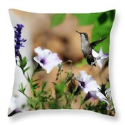 Hummmer Throw Pillow