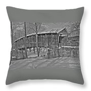 Humpback Bridge Throw Pillow