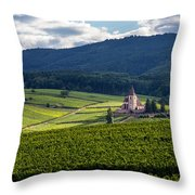 Hunawihr In The Vineyards Throw Pillow