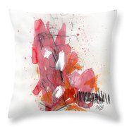 Hundelskurd Throw Pillow by Rick Baldwin