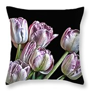 Hungry For Light Throw Pillow
