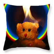 Hunk Of Burning Love Throw Pillow