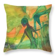 Hunt And Gather Throw Pillow
