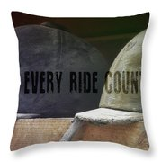 Hunt Caps Quote Throw Pillow