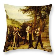 Hunt Charles The Peace Maker Throw Pillow