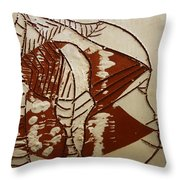 Hunter - Tile Throw Pillow