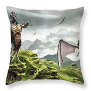 Hunter - Hound Throw Pillow