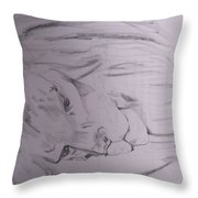 Hunters Or Prey? Throw Pillow