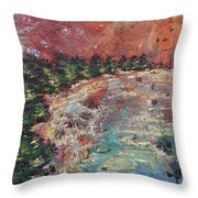 Huntington Lake Throw Pillow