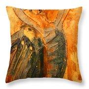 Hurrah - Tile Throw Pillow