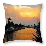 Hurricane Season Throw Pillow