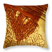 Hurricane- Tile Throw Pillow