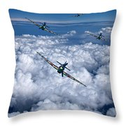 Hurricanes On Your Tail Throw Pillow
