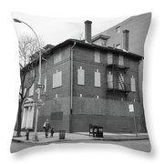 Hurst House  Throw Pillow