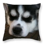In A Good Mood Throw Pillow