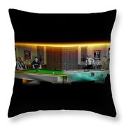 Hustlers Of Color Throw Pillow