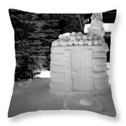 Hut Throw Pillow