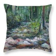 Hutan Perdic Forest Malaysia 2016 Throw Pillow