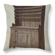 Hutch Dresser Throw Pillow