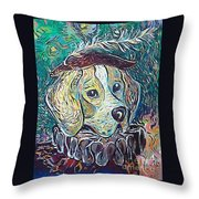 Hutch Vom Schloss Altenau Throw Pillow
