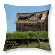 Hwy 2-3268 Throw Pillow