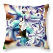 Hyacinth Photo Manipulation  Throw Pillow