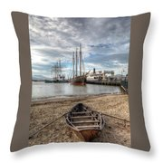 Hyde St.pier, San Francisco Throw Pillow