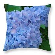 Hydrangea Floral Flowers Art Prints Baslee Troutman Throw Pillow