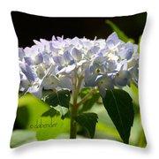 Hydrangea Four Throw Pillow
