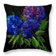 Hydrangeas 66 Throw Pillow