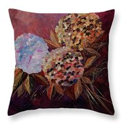 Hydrangeas 880130 Throw Pillow