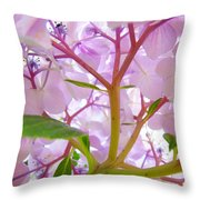 Hydrangeas Flowers Art Prints Hydrangea Art Giclee Baslee Troutman Throw Pillow