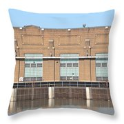 Hydro Electric Power  Throw Pillow