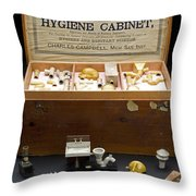 Hygienic Sanitary Appliances, 1895 Throw Pillow